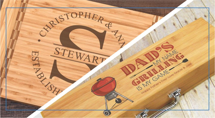 Personalized Kitchen & Grill Gifts
